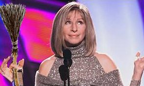 barbra streisand complains about minutemen and wields witch broom