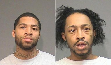 Marcal Campbell and Edward Woodson, who were charged today with sexually assaulting a handicapped Plainfield woman