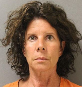 Karen Dilworth, 50, is accused of masturbating on a motorcycle in front of a 13-year-old boy