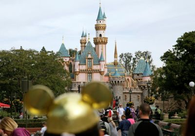 Sleeping Beauty's Castle at Disneyland in Anaheim, Calif