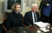Sen. Christopher Dodd, D-Conn., and his wife, Jackie Clegg