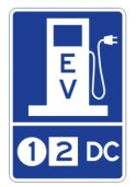 WSDOT's proposed symbol for electric vehicle charging stations