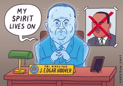 Gay Edgar Hoover is alive and well at the FBI