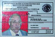 Fake Mexican ID fools Homeland Security DHS