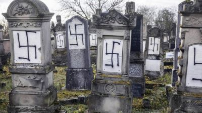 Acts of anti-Semitism rose 74 percent in France in 2018