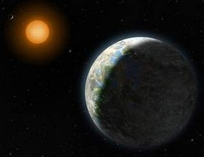 Gliese 581d is home away from home
