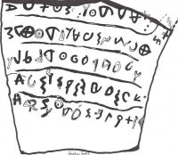 earliest known example of Hebrew writing