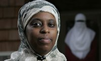 Lisa Valentine was arrested after a Georgia judge charged her with contempt of court after refusing to take off her headscarf