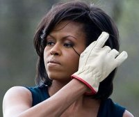 Mrs Obama has said the project will not use chemical products to tackle pests or give her plants a boost