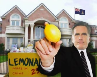 Mitt Romney started early in business with a lemonade stand