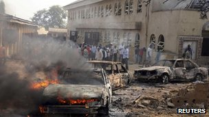 A attack on a church outside Abuja killed 37 people on Christmas Day