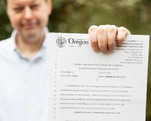 Surveying and engineering without a license will fetch a fine Oregon nonsense