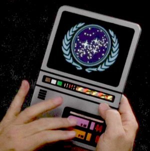 Apple iPad design is a rip off of Star Trek PADD