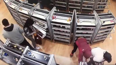 flash mob robbery