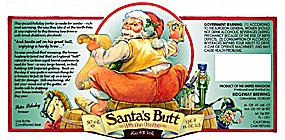 Santa's Butt - the beer that made Maine nervous