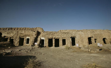 Elijah's Monastery on the outskirts of Mosul, Iraq