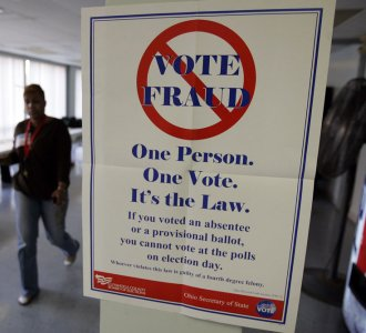 California vote compromised by fraud
