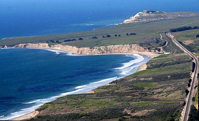 a stretch of remote California coastline known as the Cojo Jalama Ranches on the Southern California coastline