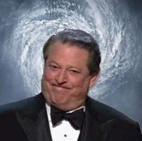 an algore of carbon a year and the planet has no fear