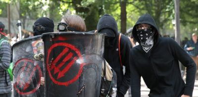antifa is a bunch of shitheads anti First Amendment