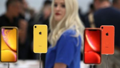 Feminists were outraged by Apple's new line of iPhones, which they complained were too big for women's hands.