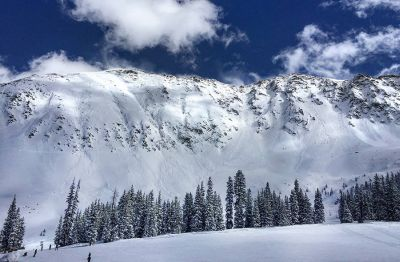 At Arapahoe Basin and other areas of Colorado, controlled avalanches are used to clear away unstable snowpack and avoid putting skiers and drivers at risk