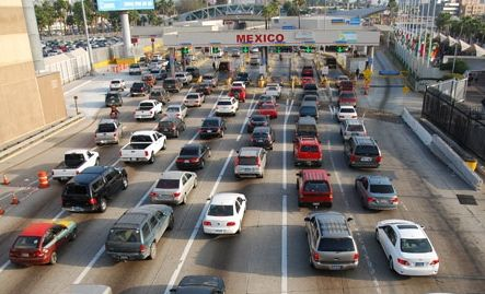 Random U.S. checkpoints in the southbound lanes of the San Ysidro port of entry can delay traffic for more than an hour