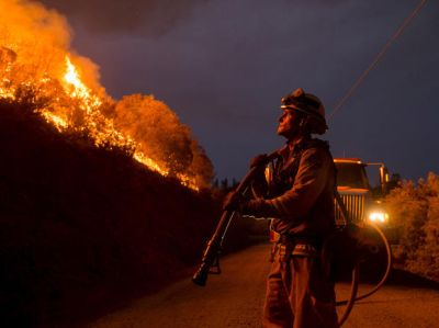 global warming California wildfires