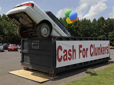cash for clunkers was a boondoggle