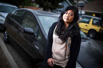 Xandy Mancao's catalytic converter was stolen from her 2007 Toyota Prius