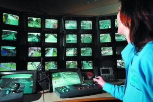 Closed-circuit TV monitoring is already common in many cities
