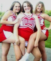 Jamie Hill, 15, Aleasha Hill, 17, and Nikki Hughett, 16, were killed in a two car crash in Scott County on Friday, Oct. 24, 2008.