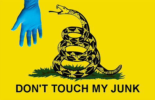 staggeron don't touch my junk flag