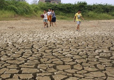 Widespread water shortages caused by global warming could lead to food shortages and mass migration