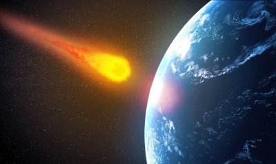 The asteroid missed the Earth by less than a quarter of the distance to the Moon