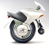 Bombardier's Embrio concept--one wheel scooter