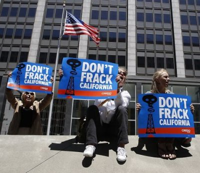 don't frack with California