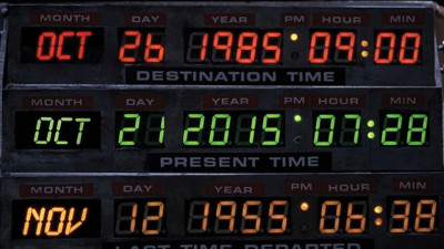 Back to the Future day is here now