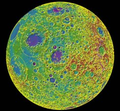 moon map reveals history of solar system