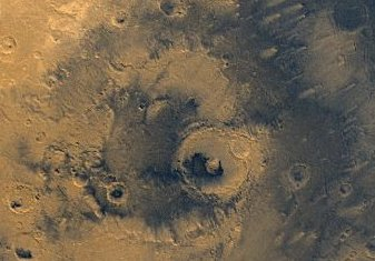 A photo of Mars from NASA's Viking spacecraft