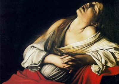 Mary Magdalen in Ecstasy. By: Michelangelo