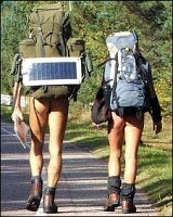 mostly German nudists started rambling through their picturesque region