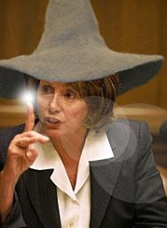 Nancy Pelosi casts spells to get her way
