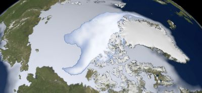 Arctic sea ice in peril