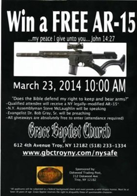 God wants you to be armed