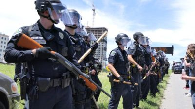 It wasn't hard to predict what would happen when police take on a siege mentality and are provided with military hardware and exempted from constitutional limitations