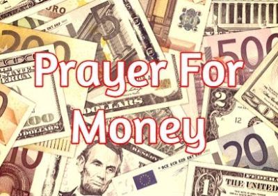 prayer for money is a scam