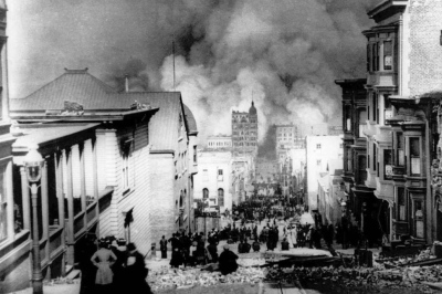 April 18, 1906 San Francisco earthquake (magnitude 7.8)