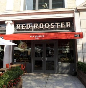 Red Rooster Harlem restaurant on Lenox Ave in Harlem