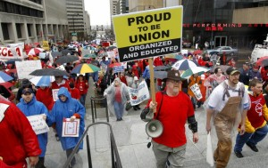 unions reject Obamacare